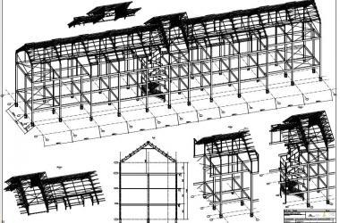 imagem Estruturas Metálicas Shopping Carmim